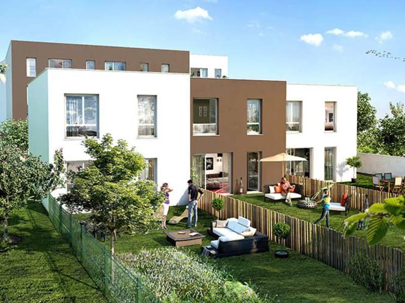 Bouygues immobilier clermont ferrand un jardin en ville 121100 superimmoneuf - Cabane jardin metallique clermont ferrand ...
