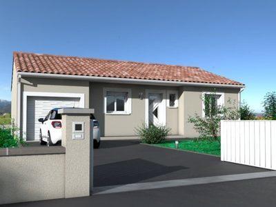 Maison neuve, 80 m² - Pennautier (11610)