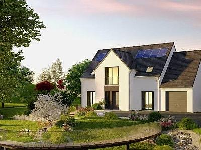 Maison neuve, 139 m² - Bouguenais (44340)