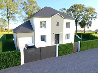Maison neuve, 105 m² - Château-Thierry (02400)