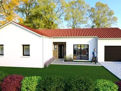 Maison neuve, 110 m² - Haute-Goulaine (44115)