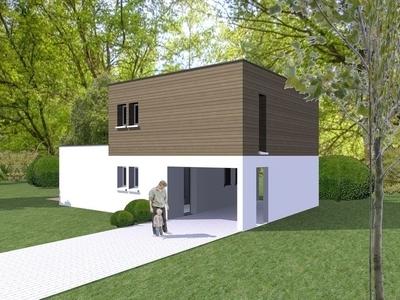 Maison neuve, 92,2 m²