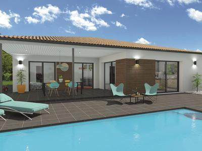 Maison neuve, 117 m² - Mérignac (33700)
