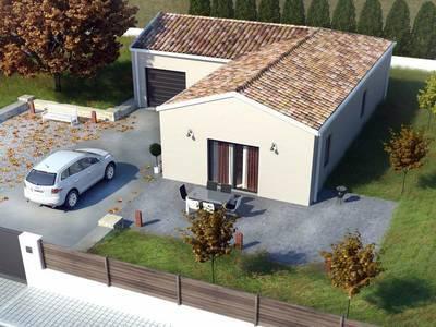 Maison neuve, 85 m² - Montpon-Ménestérol (24700)