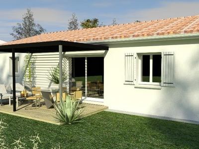 Maison neuve, 70 m² - Semussac (17120)