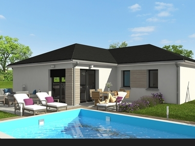 Maison neuve, 87,18 m² - Brouvelieures (88600)