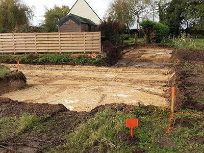 Terrain à bâtir, 373 m²