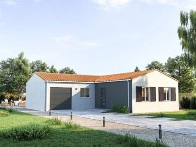 Maison neuve, 75 m² - Marennes (17320)