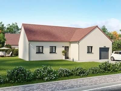 Maison neuve, 105 m² - Farges-lès-Chalon (71150)