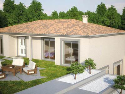 Maison neuve, 90 m² - Montceau-les-Mines (71300)