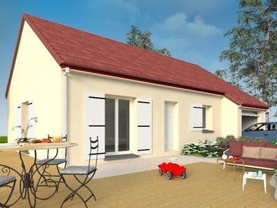 Maison neuve, 75 m² - Saint-Paul-des-Landes (15250)