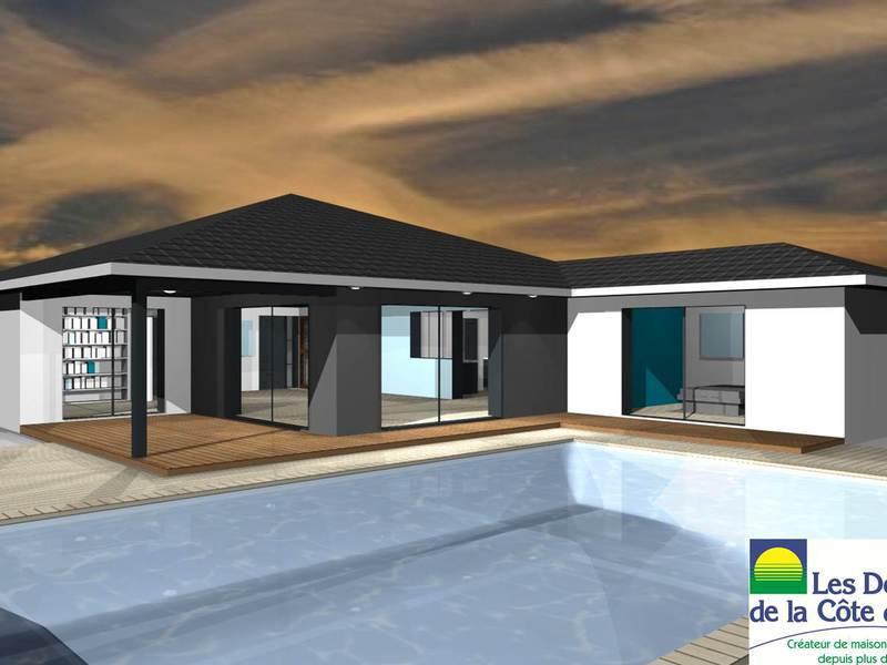 demeures de la c te d 39 argent andoins maisons de 5 pi ces 274320 superimmoneuf. Black Bedroom Furniture Sets. Home Design Ideas
