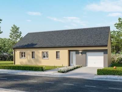Maison neuve, 80 m² - Farges-lès-Chalon (71150)