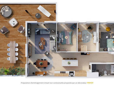 L'AUTRE RIVE - Appartements Volumes Capables