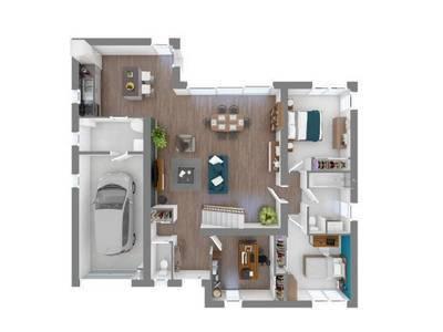 Maison neuve, 140 m²