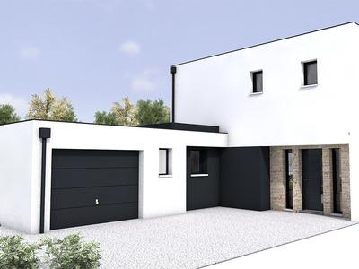 Maison neuve, 160 m² - Nantes (44300)