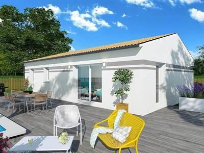 Maison neuve, 94 m² - Vic-en-Bigorre (65500)