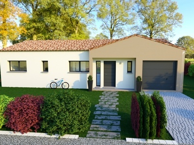 Maison neuve, 107 m² - Saint-Augustin (17570)