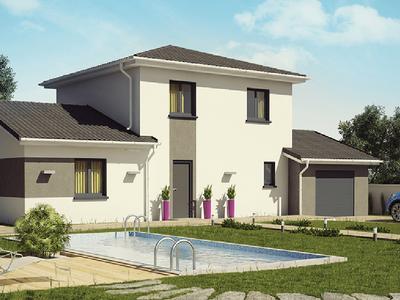 Maison neuve, 105 m² - Montfaucon-en-Velay (43290)