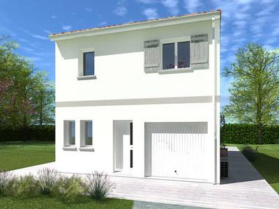 Maison neuve, 90 m² - Bègles (33130)