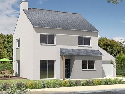 Maison neuve, 110 m² - Brest (29200)