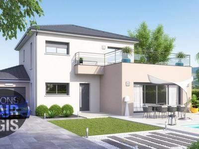 Maison neuve, 115 m² - Lignerolles (03410)