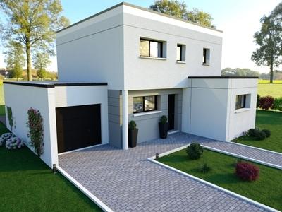 Maison neuve, 130 m² - Saint-Herblain (44800)