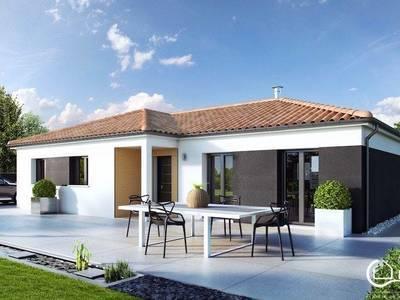 Maison neuve, 98 m² - Chaillevette (17890)