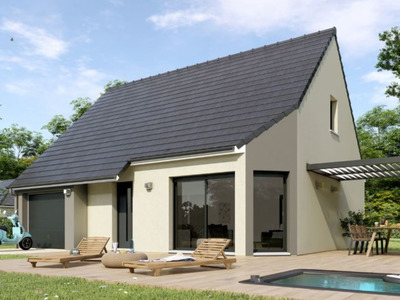 Maison neuve, 80 m² - Reuilly (27930)