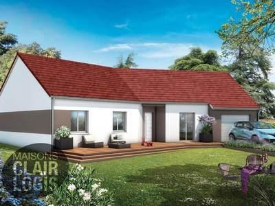 Maison neuve, 90 m² - Saint-Léopardin-d'Augy (03160)