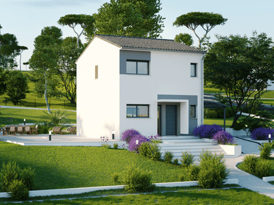 Maison neuve, 91 m² - Semussac (17120)