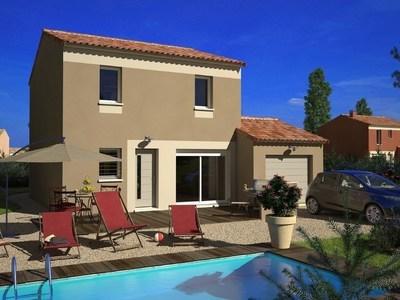 Maison neuve, 78 m² - Lairoux (85400)