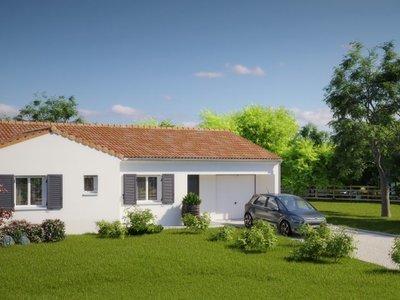 Maison neuve, 98 m² - Moreilles (85450)