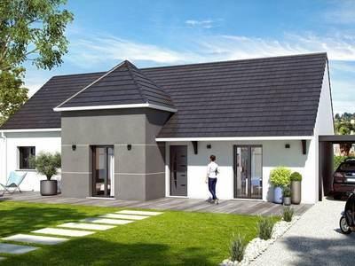 Maison neuve, 111 m² - Virey-le-Grand (71530)