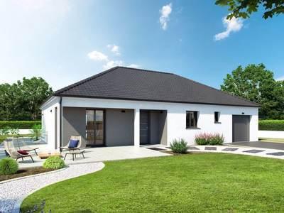 Maison neuve, 101 m² - Saint-Marcel (71380)
