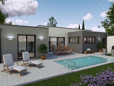 Maison neuve, 100 m² - Port-des-Barques (17730)
