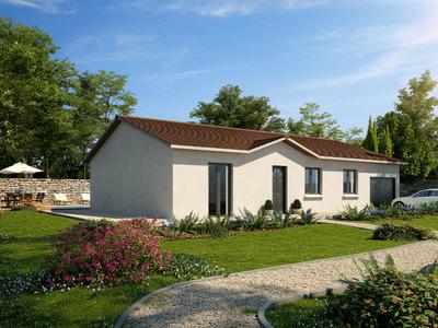 Maison neuve, 91,8 m²