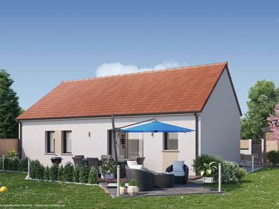 Maison neuve, 77 m² - Saran (45770)