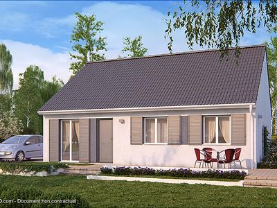 Maison neuve, 76 m²
