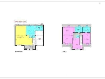 Maison neuve, 124 m² - Evreux (27000)