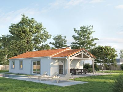 Maison neuve, 87 m² - Coursac (24430)