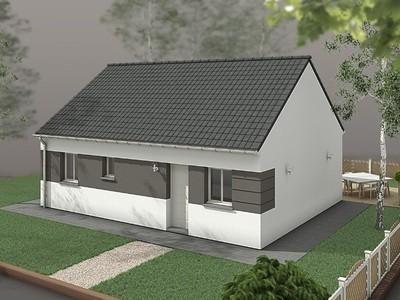 Maison neuve, 63 m²