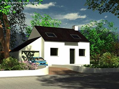 Maison neuve, 72,11 m²