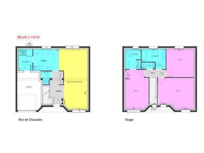 Maison neuve, 118 m² - Vertou (44120)