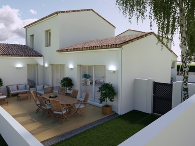 Maison neuve, 94 m² - Saint-Georges-de-Didonne (17110)
