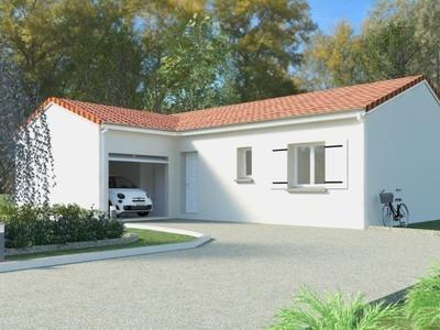 Maison neuve, 85 m² - Maurs (15600)