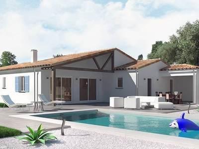 Maison neuve, 91 m² - Le Gua (17600)