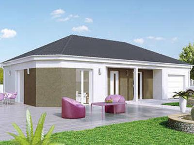 Maison neuve, 95 m² - Châtenoy-en-Bresse (71380)