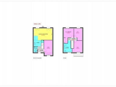 Maison neuve, 96 m² - Evreux (27000)