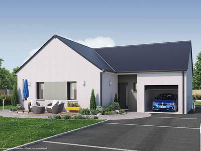 Maison neuve, 74 m² - Saint-Jean-de-Braye (45800)
